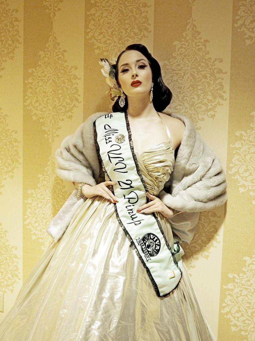 1st runner-up Miss Viva Las Vegas Wilhelmina Af Feran unelma on kansainvälinen ura ja oma brändi.