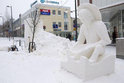 Pakkasukkoviikolla Kemissä kilpaillaan lumenveistossa, puuhataan kävelykadulla ja kuunnellaan hyvää musiikkia