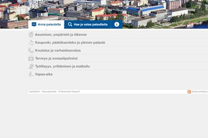 Rovaniemi otti käyttöön uuden palautejärjestelmän – vastaus luvataan antaa viidessä arkipäivässä, eniten palautetta tullut teiden kunnossapidosta