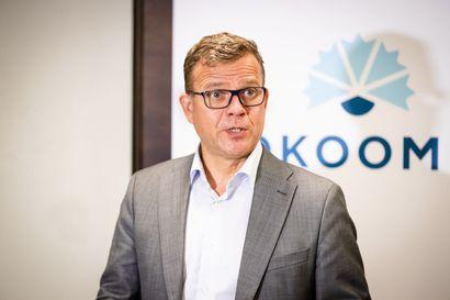 """Kokoomuksen puheenjohtaja Petteri Orpo: """"Emme hyväksy kuntien hautajaisia"""""""