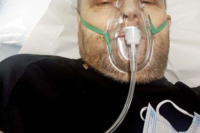 Tyrnäväläisen Hannun korona vei viideksi vuorokaudeksi sairaalaan –marraskuisen viikonlopun aikana sairastui moni muukin perheenjäsen, ja muualla ollut äiti joutui tekemään vaikean päätöksen