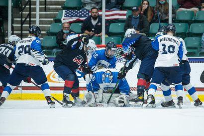 Yhdysvallat voitti Pikkuleijonat jatkoajalla MM- trillerissä – Suomi silti alkulohkonsa ykkönen, puolivälierässä vastaan tulee Sveitsi