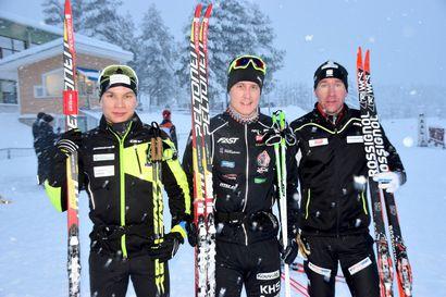 Matintalo ja Lepistö voittajia Kaamoskisoissa Posiolla - Nuoret MM-mitalistit hakivat Kotivaaran laduilta vauhtia kuluvaan kilpailukauteen