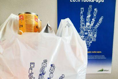 Ruoka-apua jaettu Taivalkoskella 1990-luvulta alkaen – apua tarvitsee vuosittain 120-130 perhekuntaa
