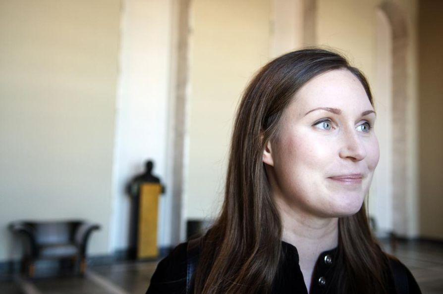 Sdp:n varapuheenjohtaja Sanna Marin vaatii raiskauslainsäädännön muuttamista.