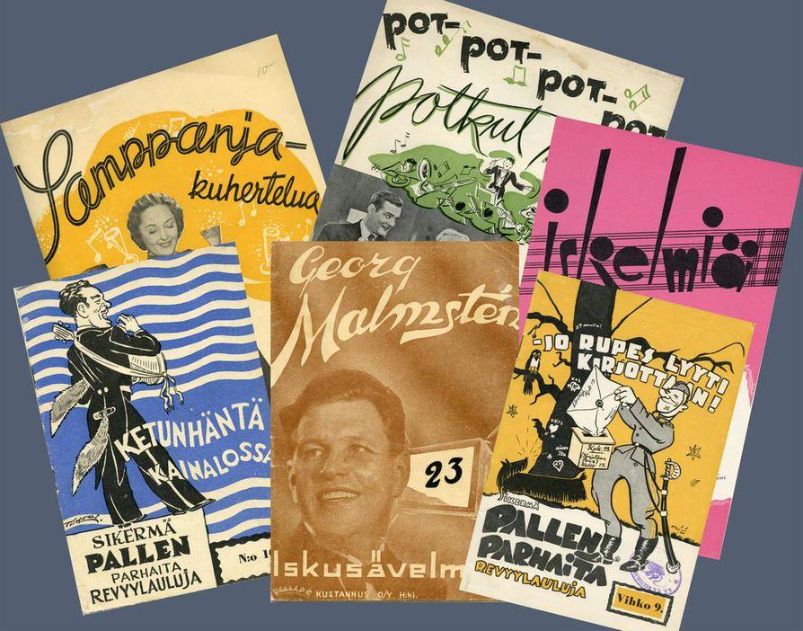 Nuottiteollisuus toimi elokuvan rinnalla puoli vuosisataa 1930-luvun alusta 1970-luvun lopulle.