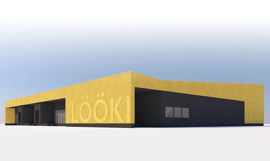 Monitoimikeittiö Lööki valmistuu vuoden päästä kesällä 2017.