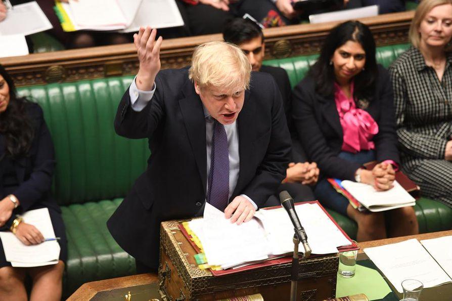 Britannian pääministeri Boris Johnson sanoi torstaina olevansa erittäin toiveikas ensi viikolla alkavien neuvotteluiden suhteen.