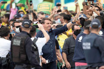 Yhdysvallat asetti porttikiellon Brasiliasta tuleville