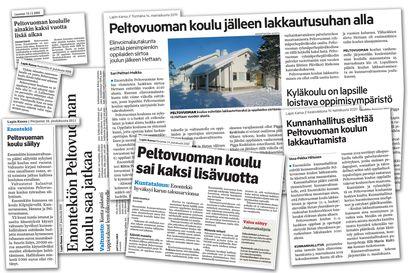 Nyt se on varma: Enontekiö lakkauttaa Peltovuoman koulun