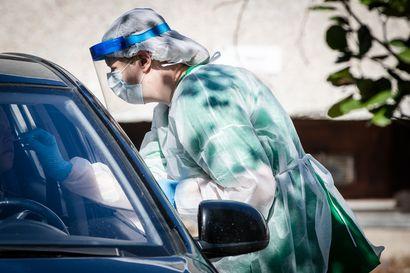 THL: Suomessa todettu 225 uutta koronavirustartuntaa, Pohjois-Pohjanmaalle kirjattiin tartuntoja Ouluun, Pudasjärvelle ja Raaheen