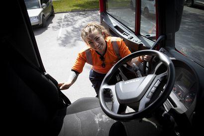 Kuskeilla on nyt hyvin työtä - Kuljetusalan tekijöistä on pulaa paikallisesti