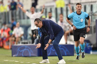 Mestarien liigasta pudonnut Juventus erotti päävalmentajansa Sarrin