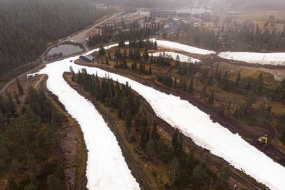 Rukalla avautuu perjantaina 1140 metriä rinteitä laskettavaksi ja lauantaina saadaan vielä 720 metriä lisää