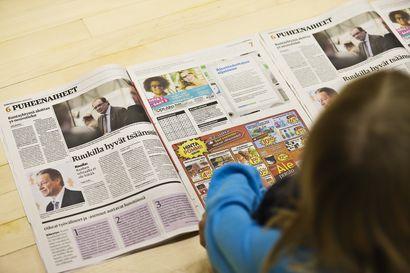 Kriisissä sanomalehti tavoittaa ja tiedottaa
