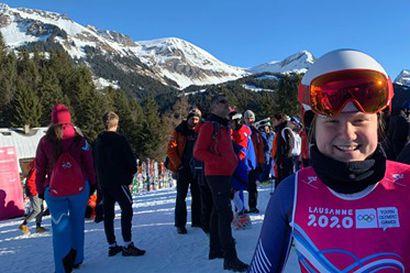 Rosa Pohjolainen seitsemäs nuorten talviolympiafestivaaleilla
