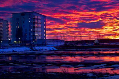 Iltarusko aamun usko  –Ennen vanhaan säätä ennustettiin itse katsomalla taivaalle iltaisin ja aamuisin