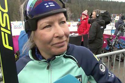 """Riitta-Lisa Roponen hiihti viiimeisen arvokisahiihtonsa – """"Nyt on huojentunut olo"""""""