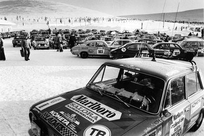 Öljykriisi pysäytti myös moottoriurheilun 47 vuotta sitten – mutta ei Tunturirallia: maailmat parhaat kuljettajat kiersivät kolme päivää Lappia ministeriön poikkeusluvalla