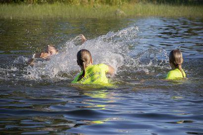 Monipuolista ja hauskaa! Hiihtäjät treenaavat Limingassa kesälläkin olosuhteiden ja tilanteen mukaan
