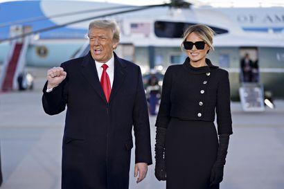 Trump poistui Valkoisesta talosta viimeisen kerran, ja suostui noudattamaan yhtä väistyvän presidentin perinnettä