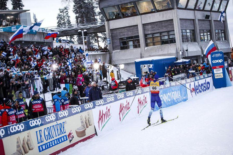 Iivo Niskanen tarjosi Rukalle saapuneelle suomalaisyleisölle aihetta riemuun. Viikonloppu osoitti, että Niskanen on valmis tappelemaan maailmancupissa kärkisijoista joka viikonloppu.