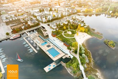 Oulun merikylpylää joudutaan vielä odottamaan