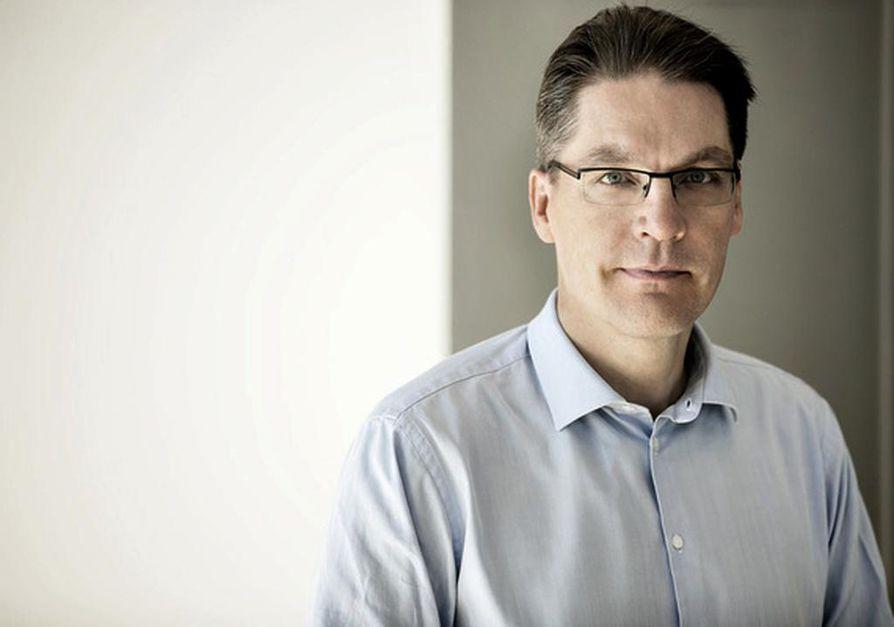 Risto Murto on työeläkeyhtiö Varman toimitusjohtaja.