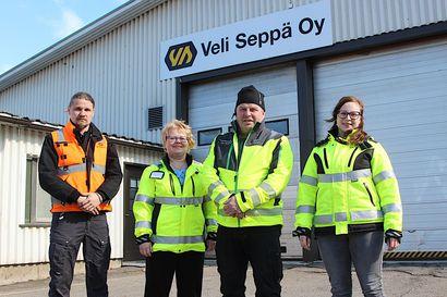 """Veli Seppä Oy:ssä annetaan arvoa työntekijöiden osaamiselle """"Ilman hyviä työntekijöitä tästä hommasta ei tulisi yhtään mitään"""""""