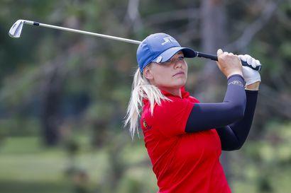 Seuraavaksi Tokioon suuntaava Matilda Castren golfasi uransa parhaan sijoituksen arvoturnauksessa