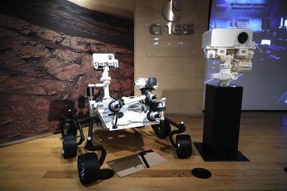 Yhdysvaltain mönkijä laskeutuu Marsin pinnalle tänä iltana mukanaan suomalaista mittauslaitteistoa