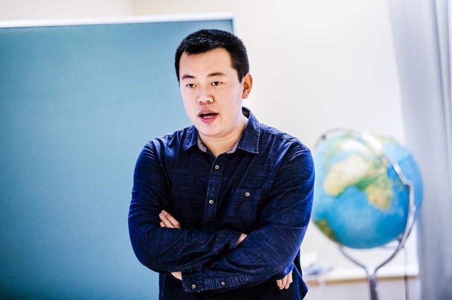 ¿Suomi kiinnostaa Kiinaa maantieteellisen sijaintinsa vuoksi, sanoo kiinalaissyntyinen tutkija Nengye Liu.
