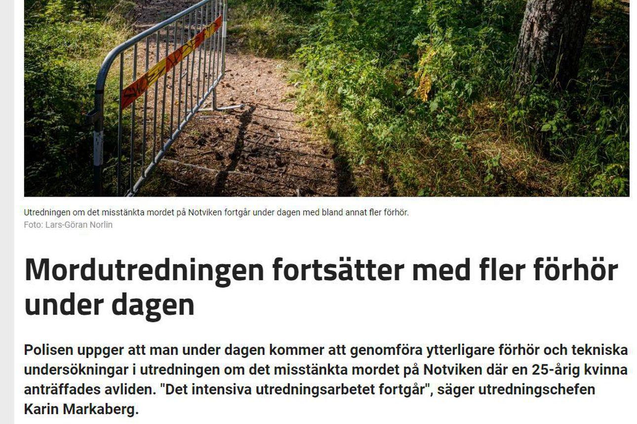 Luulajan murhasta yksi otettu kiinni – Ampumisella arvellaan olevan yhteyksiä Etelä-Ruotsin rikollispiireihin
