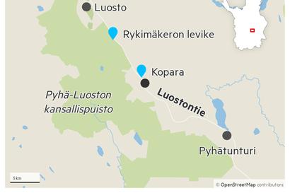 Pyhä-Luoston kansallispuistossa on kateissa 54-vuotias mies – viimeiset havainnot on tehty lähes kuukausi sitten