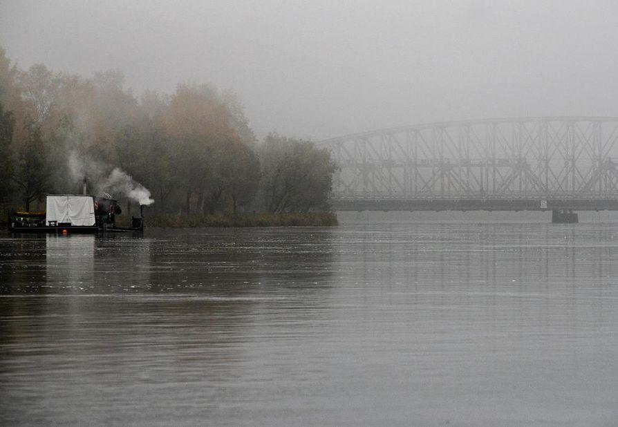 Maanantaina sataa ennusteen mukaan vettä Oulun alueella. Arkistokuva.