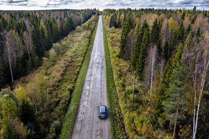 Lyhin ajoreitti Rovaniemen ja Oulun välillä tarkoittaa tiukkaa mutkittelua ja kuoppien väistelyä sivuteillä – katso kuusi reittivaihtoehtoa
