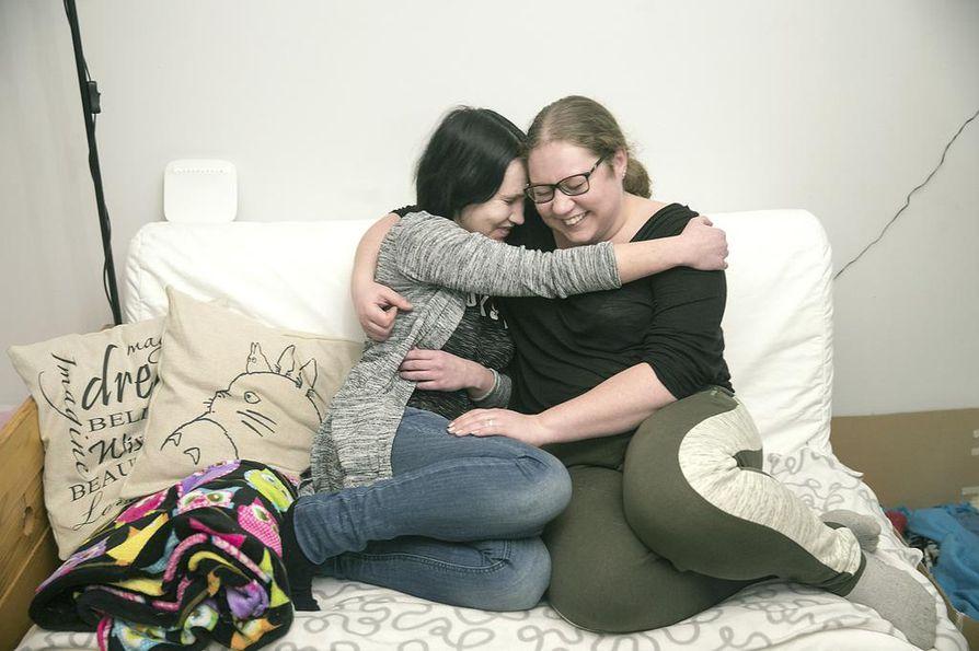 Lotta Nikkisestä ja Sallamaari Härkösestä tuntui ystävyyden ensihetkistä asti, että he ovat tunteneet toisensa aina.