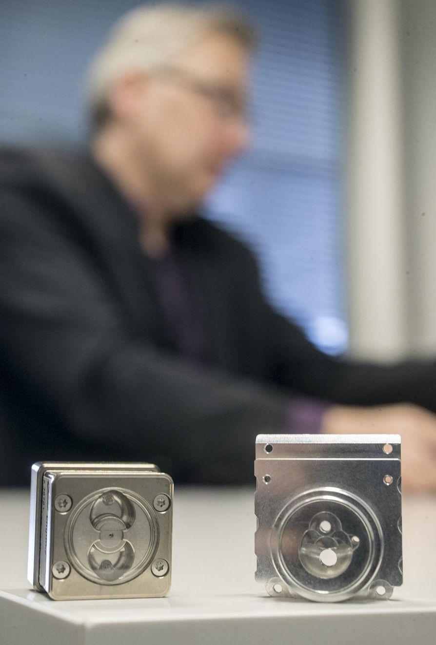 Spectral Engines on kehittänyt pesukonetta varten tekstiili- ja tahra-anturin.