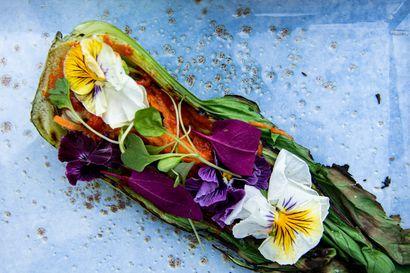 Salaatin ei tarvitse olla tylsä ja kevyt – Nämä viisi kaunista ja jännää salaattia räjäyttävät makuhermosi