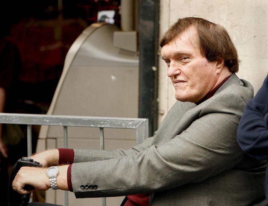 Richard Kiel näytteli Rautahammasta kahdessa Bond-filmissä, 007 - Rakastettuni (1977) ja Kuuraketti (1979). Kuva on vuodelta 2007.