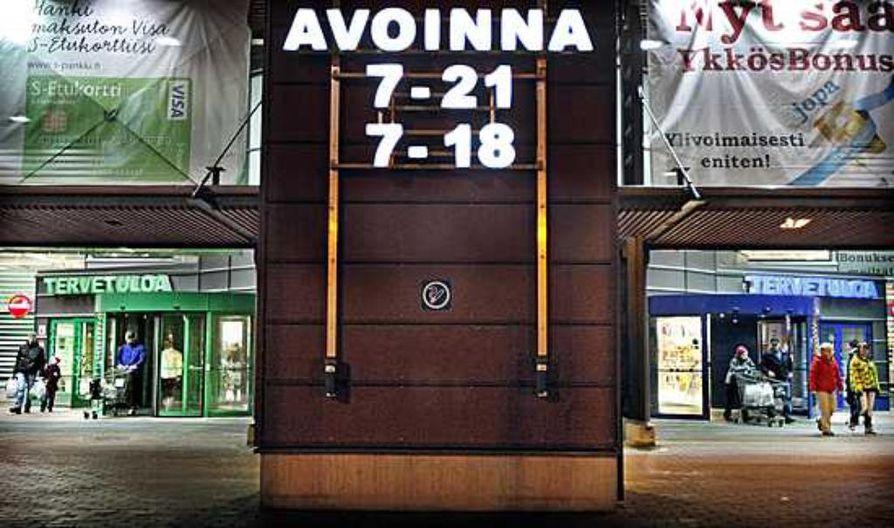 Sunnuntaikauppa alkoi viikko sitten hiljaisesti Oulussa.