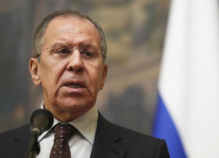 Venäjän ulkoministeri Sergei Lavrovin oli määrä vierailla Britanniassa. Nyt kutsu peruttiin.