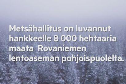 Tähän metsään suunnitellaan miljardin euron Joulupukin valtiota