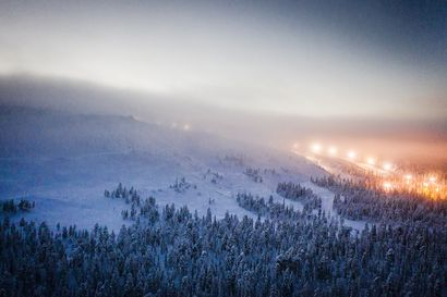 """Kaksi laskettelijaa hautautui tunniksi lumivyöryn alle Luostolla – """"Onneksi toinen sai soitettua apua"""""""
