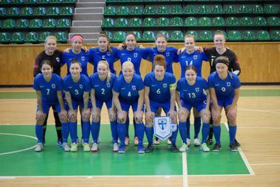Suomen futsalnaiset tasapeliin Unkaria vastaan