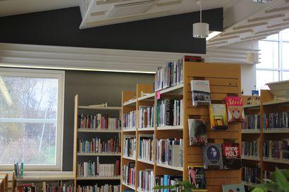 Merijärven kirjastolla hyvä vuosi, lainamäärä kasvoi koronasta huolimatta