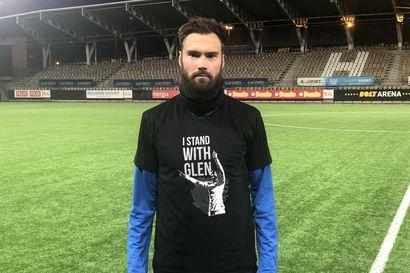 Huuhkajat kaikki yhden puolesta – Kamaralle tukea ja Uefallekin tiukkaa toivetta
