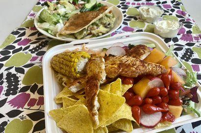 Syömässä: Meksikolaisia makuja noudettuna
