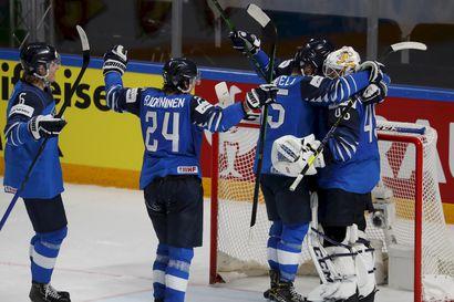 """Shakki, matti ja finaaliin –ilkeän ansan virittänyt Saksa löysi keinot Suomen horjuttamiseen, mutta Jussi Olkinuora oli MM-välierän lopussa ohittamaton: """"Sitkeys tulee näillä pojilla äidinmaidossa"""""""