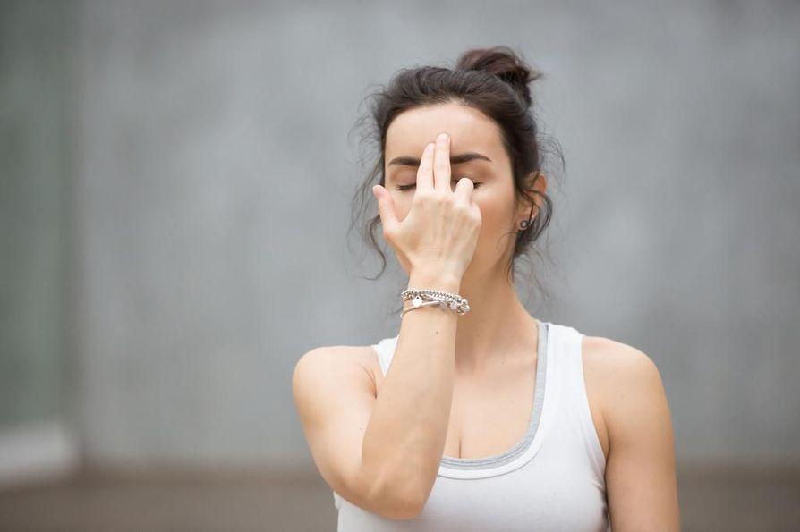 Hengitysharjoitus ei vaadi erityistä tilaa. Sen voi tehdä koska vain.